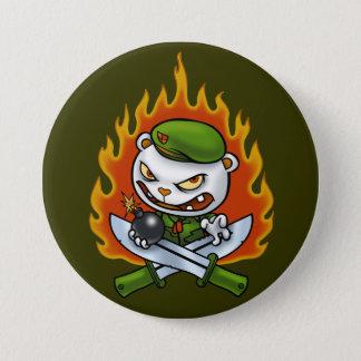 Botón Flippy del tatuaje de la llama
