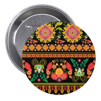 Botón floral adornado