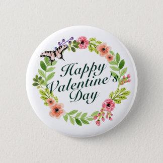 Botón floral de la guirnalda del el día de San
