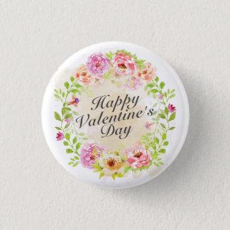 Botón floral del Pin de la guirnalda del el día de