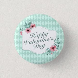 Botón floral del Pin del marco del el día de San