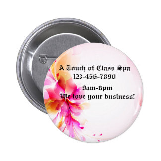 Botón floral rosado