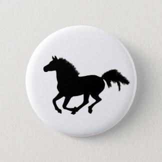Botón galopante del caballo, perno, idea del