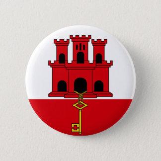 Botón gibraltareño de la bandera