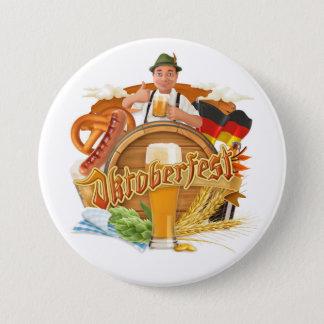 Botón grande de Oktoberfest