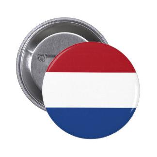 Botón holandés de la bandera