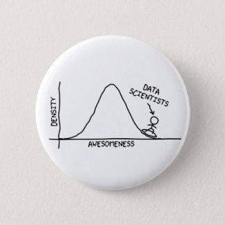 Botón impresionante de los científicos de los