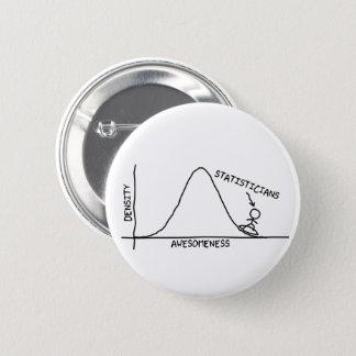 Botón impresionante del estadístico