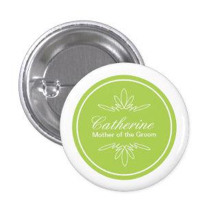 Botón intemporal del nombre del banquete de boda d