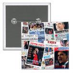 Botón internacional de los títulos de Obama Pins