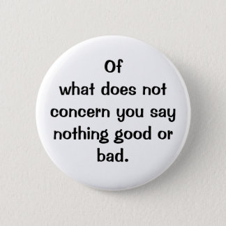 Botón italiano del proverbio No.128
