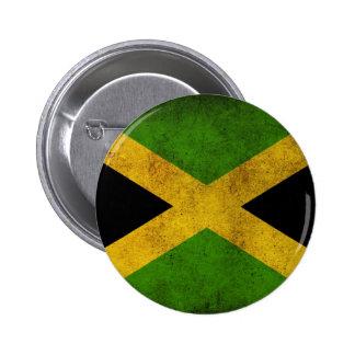 Botón jamaicano de la bandera