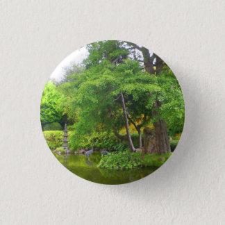 Botón japonés de la charca #4 del jardín de té de