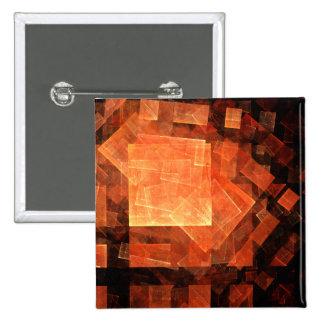 Botón ligero del arte abstracto de la ventana (cua