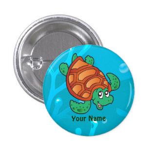 Botón lindo acuático del personalizado de la