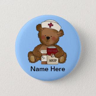 Botón lindo de la enfermera