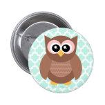 Botón lindo del búho de Kawaii Pins