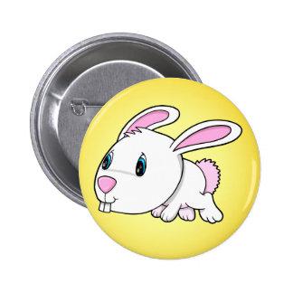Botón lindo del conejo de conejito de pascua