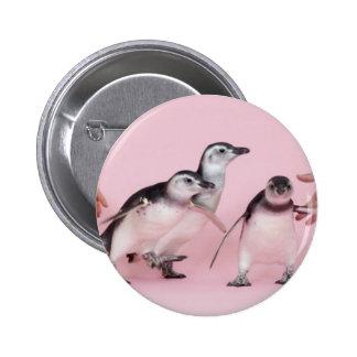 botón lindo del pingüino