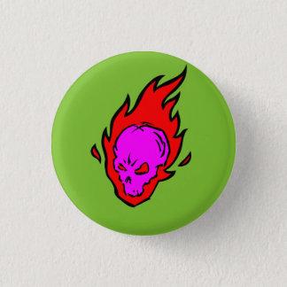 Botón llameante del cráneo del Hothead