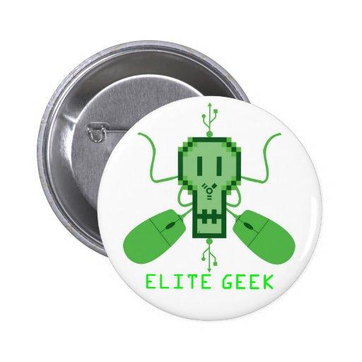 Botón Logo Elite Geek - M1 Pins