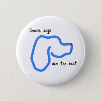 Botón mayor de los perros