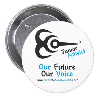 Botón menor del activista de ECO Pins