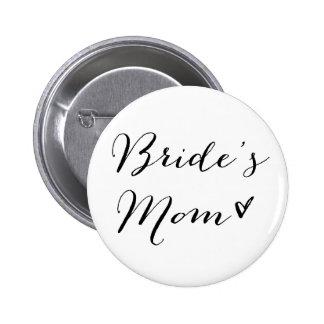 Botón moderno de la caligrafía de la mamá el | de