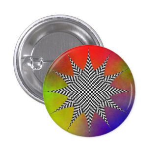 Botón moderno de Pinback del plasma