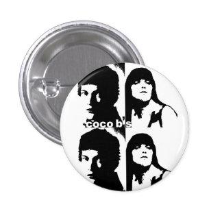 Botón moderno del amante de CocoB