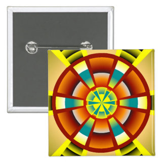 Botón moderno del círculo pin