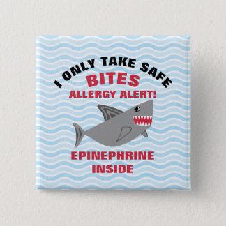 Botón múltiple del tiburón de la alarma de la