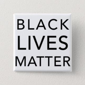 Botón negro de la materia de las vidas