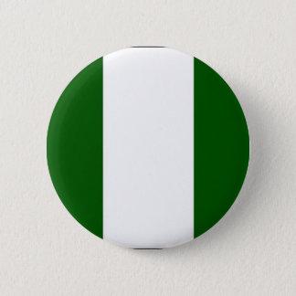 Botón nigeriano de la bandera