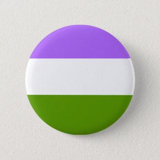 Botón No-Binario de LGBTQA Genderqueer Awarenness