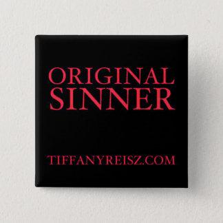 Botón original del pecador