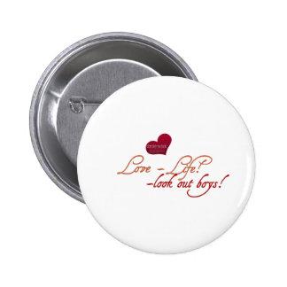 Botón perfecto de la hermandad de mujeres
