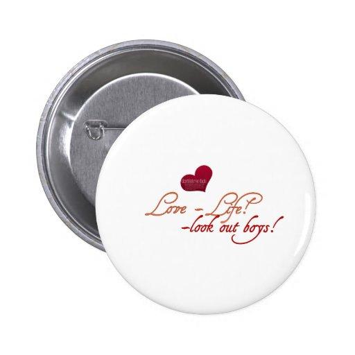 Botón perfecto de la hermandad de mujeres pin
