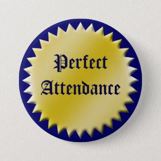 Botón perfecto del premio de la atención,