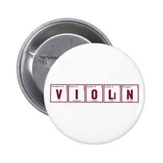 Botón periódico del violín