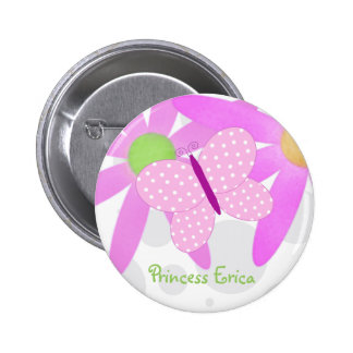 Botón personalizado de la mariposa pins