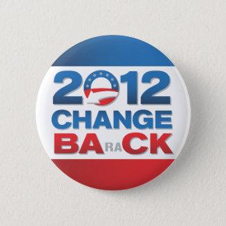 Botón político de 2012 cambios detrás