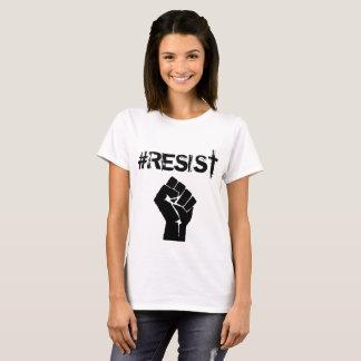 """Botón político del """"Anti-Triunfo"""" del #Resist Camiseta"""