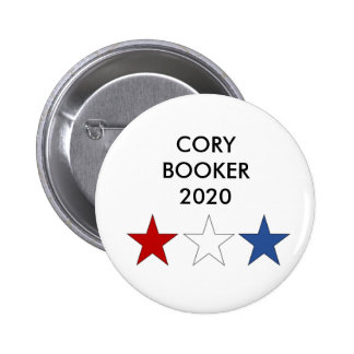 Botón presidencial del BOOKER 2020 de CORY