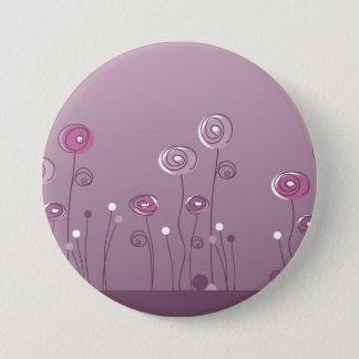 Botón púrpura del verano