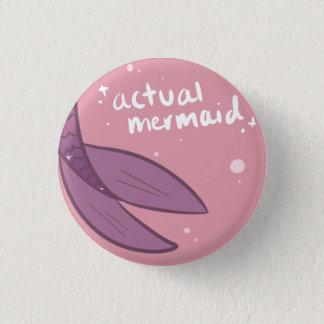 Botón real de la sirena - púrpura
