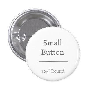 Botón redondo de encargo