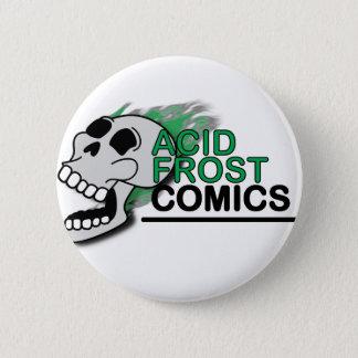 Botón redondo de Frost del cráneo ácido de los
