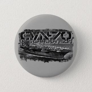 Botón redondo del botón de Carl Vinson de