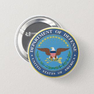 Botón redondo del Departamento de Defensa